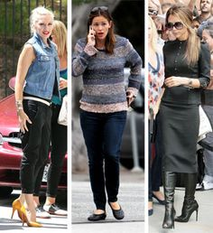 """The 12 """"Mom"""" Fashion Types as Illustrated by Celebrities and Photos. Funny article! Some aspirational, Some not!"""