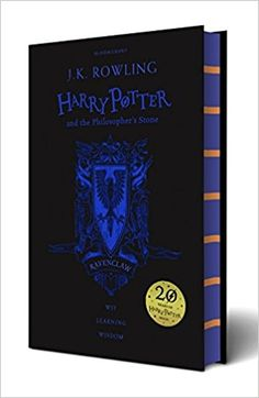 Amazon.fr - Harry Potter and the Philosopher's Stone. Ravenclaw Edition - J. K. Rowling - Livres