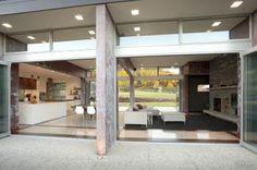 Home kitchen bathroom commercial design House Landscape, Landscape Design, Home Trends, Design Trends, Design Ideas, Pavilion, Minimalism, Pergola, New Homes