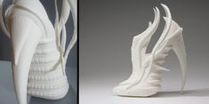 images of unusual shoes | Beautiful and creative shoes designed and 3D printed by talented ...