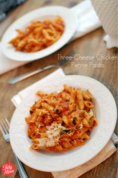 three cheese penne