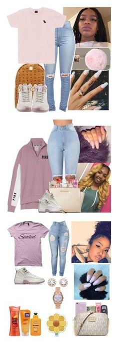 Jordan |12| Plum Fog (1) by prinxcessadrii ❤ liked on Polyvore featuring MCM, Octobers Very Own, NIKE, Victorias Secret, Sonix, Beats by Dr. Dre, Maybelline, MICHAEL Michael Kors, BMW and Monki