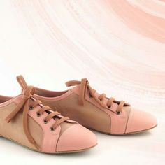 Romantic oxfords Oxfords, Loafers, Fashion Shoes, Oxford Shoes, Walking, Flats, Summer 2014, Cinderella, Pink