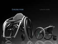 Free4 concept wheelchair offers greater mobility to the handicapped