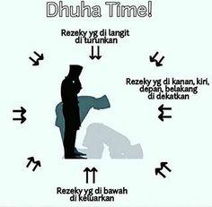 sholat dhuha Islam Quran, Quran Quotes, Doa, People Quotes, Inspiring Quotes, Just Love, Muslim, Islamic, Religion