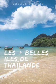 Envie de vous évader le temps de vacances sous les cocotiers, que ce soit sur des iles touristiques, pour profiter de l'ambiance animée, ou perdues au milieu de nulle part, pour jouer le naufragé seul au monde ? Au programme : ciel bleu, mer turquoise et plages bordées de palmiers! #Thailande #ile #paradis #plage #mer #Asie #voyage #Tourisme #vacances #Koh #kohtao #kohsamui #trang #kohkradan #kohmook