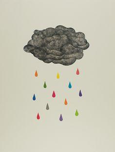 Les jours de pluie