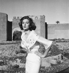 Suzy Parker by Georges Dambier for Elle - Morocco 1953