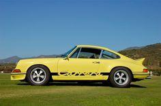 1973 porsche rs   1973 Porsche 911 RS Carrera 2.7