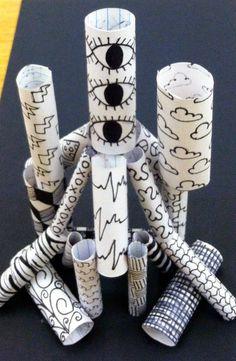 Kids Art Market: Non-Objective Pattern Sculptures with Sol Lewitt