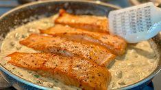 Best Seafood Recipes, Fish Recipes, Bon Appetit, Dill Sauce, Fish And Seafood, Sweet Potato, Food To Make, Main Dishes, Stuffed Mushrooms