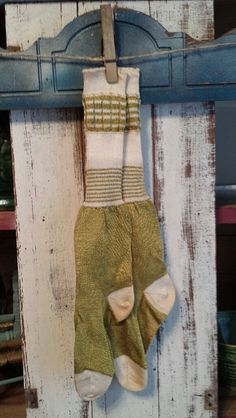Early Old Child's French Silk Stockings/Socks by collecteddust on Etsy,