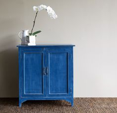 A Gorgeous Blue indeed! For distressed, vintage, contemporary or bohemia inspired furniture browse more at our online store here! http://originals.com.sg
