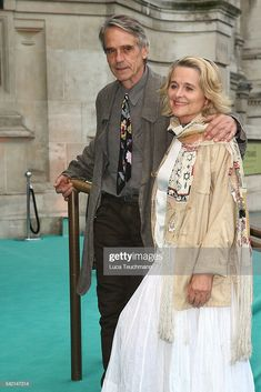 News Photo : Sinead Cusack and Jeremy Irons arrive for the V&A. Sinead Cusack, Heroes Actors, Jeremy Irons, The V&a, Victoria And Albert Museum, Still Image, Actors & Actresses, Couples, News