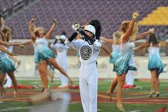 If I could just be in the Phantom Regiment guard for one year, I'd die happy.
