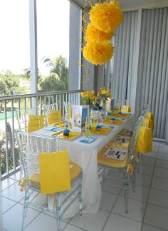 Party - Minions Theme Party (can add Spongebob decor for Spongebob party theme