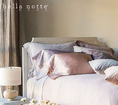 Bella Notte. Satin Pillow Cases! Free Shipping