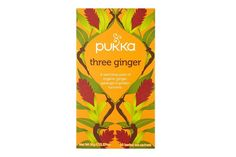 Pukka Organic Three Ginger 20 Tea Bags 36G  #ec #ethical #ring #friendly #e £2.39 #organic #natural #ecofriendly #sustainaable #sustainthefuture