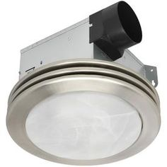 Utilitech 2 Sone 80 Cfm Brushed Nickel Bathroom Fan 7109 01