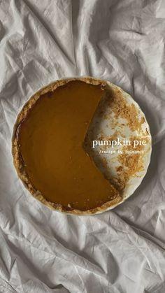 Pumpkin Pie Recipes, Food Is Fuel, Aesthetic Food, Pumpkin Spice, Love Food, Cravings, Sweet Tooth, Food Porn, Food And Drink