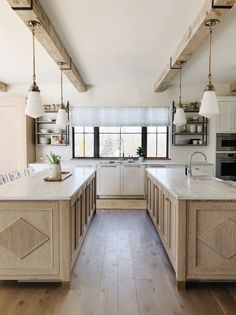View kitchen photography of luxury lighting fixtures by The Urban Electric Company. All fixtures bench-made at its factory in Charleston, SC. Kitchen Pantry, Kitchen Reno, Kitchen Dining, Kitchen Remodel, Island Kitchen, Kitchen Ideas, Double Islands In Kitchen, Kitchen Cabinets, Cozy Kitchen