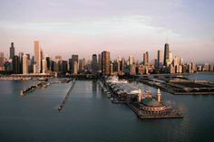 Navy Pier in the early morning light. — Scott Strazzante, Chicago Tribune, July 22, 2005