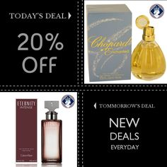 Today Only! 20% OFF this item.  Follow us on Pinterest to be the first to see our exciting Daily Deals. Today's Product: Chopard Enchanted 75ml/2.5oz Eau de Parfum Spray EDP Perfume Fragrance for Women Buy now: http://perfumebrands.net/products/chopard-enchanted-75ml-2-5oz-eau-de-parfum-spray-edp-perfume-fragrance-for-women?utm_source=Pinterest&utm_medium=Orangetwig_Marketing&utm_campaign=Only%20Today%20...%20Special%20Price%20for%20a%20special%20person #fashion #perfume #smellgood…