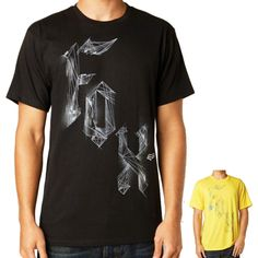 2015 Fox Racing Mens Short Sleeve Dirty Theory Basic Tee Casual Shirt Top