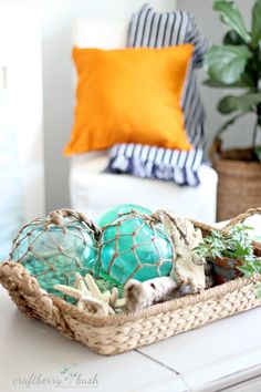 Decor - Craftberry Bush: Large glass buoys DIY