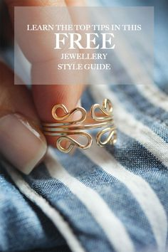 Learn to layer your necklaces like a pro, combine colours, and add more textural elements into your jewellery box!  This free Jewellery Style Guide is full of tips and tricks to get the most out of your jewellery! Head to www.leahyarddesigns.com to get your free download.