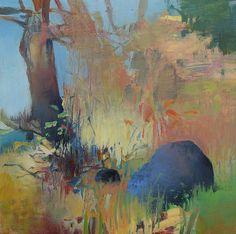 RANDALL DAVID TIPTON - Edge of the Marsh - Oil on Panel 8x8