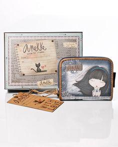 cartera billetero mini de la colección Moon Anekke