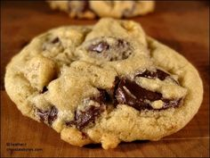 The Best Chocolate Chip Cookie Ever -
