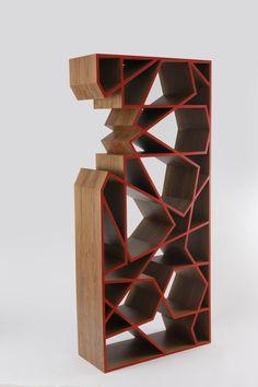 Innovative Bookshelves 30 gorgeous and innovative bookshelves   geometric designs