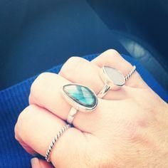 Layered Rings by kvbijou