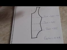 Formula para reduccion de telas elasticas y semielasticas para patrones de moda o prendas de vestir. - YouTube