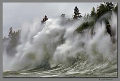 Lake Superior winter storm