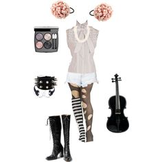 """""""Emilie Autumn Inspired #4"""" by conquistadorofsorts on Polyvore"""