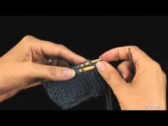 Learn how to knit the Kitchener Stitch, a technique used to join two pieces of knitted fabric together. It is most often used to close up the toe of a knitted sock. Video from www.AnniesCatalog.com.