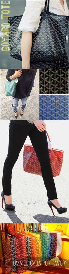 Goyard St. Louis... classic, durable and functional.