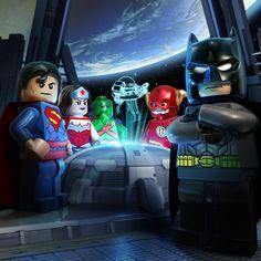 LEGO Batman 3 on Behance/ Package design. so cute :)