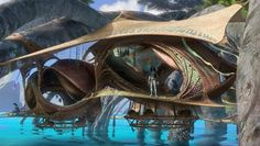 New Avatar Sequel Concept Art Features a New Pandora Location