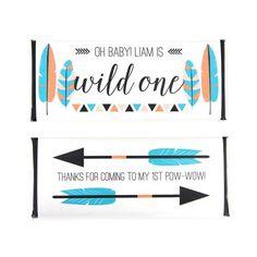 Tribal Feather & Arrow Wrapper