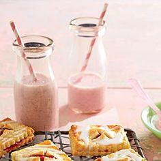 Spiked Strawberry Milk   MyRecipes.com