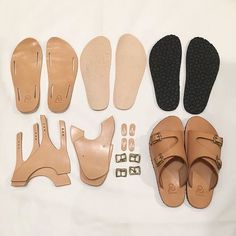 Leather Sandals Flat, Leather Slippers, Shoes For High Arches, Adidas Shoes Women, Shoes Men, Boho Sandals, Handmade Leather Shoes, Shoe Pattern, How To Make Shoes