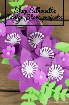 This floral topper makes a great teacher gift and fits perfectly onto a candy bar. Silhouette Projects, Silhouette Design, Purple Candy Bar, Candy Bar Bouquet, Design Projects, Craft Projects, Cameo Project, Spice Labels, Great Teacher Gifts