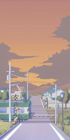 Cute Pastel Wallpaper, Cute Patterns Wallpaper, Cute Anime Wallpaper, Aesthetic Pastel Wallpaper, Aesthetic Backgrounds, Aesthetic Wallpapers, Anime Backgrounds Wallpapers, Anime Scenery Wallpaper, Cute Cartoon Wallpapers