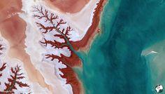 Iran : Earth View : 40 photos exceptionnelles de la Terre vue du ciel - Linternaute