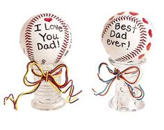 baseball crafts, father day, dad stuff, basebal basebal, fathers day gifts