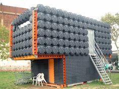 Casa pollo, 30 m2, santiago cirugeda